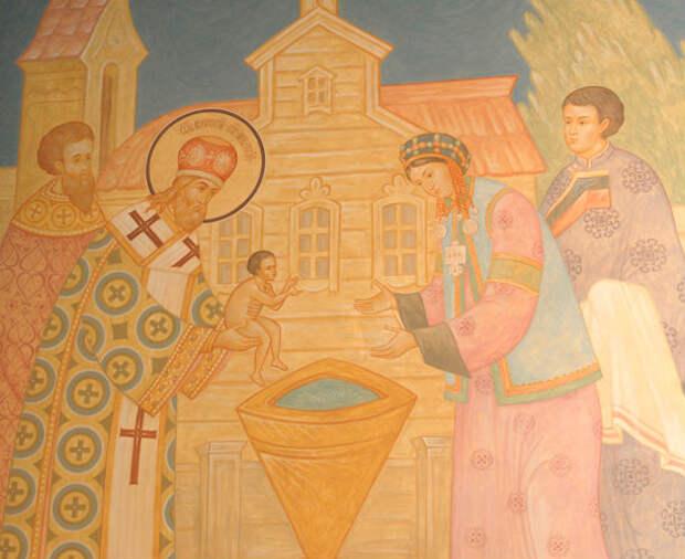 Методы крещения автохтонного населения Западной Сибири в конце XVI — XVII вв.