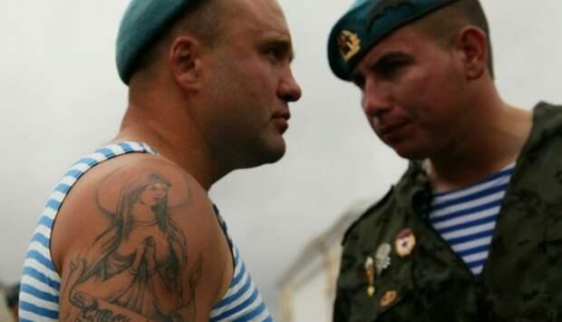 """""""Чёртовы полосатые рубашки!"""": Американский спецназовец рассказал, почему боится наших десантников"""