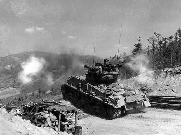 Китайская противотанковая артиллерия в корейской войне