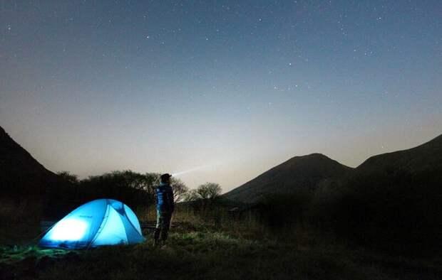 Крым — в топ-10 направлений для отдыха в палатках этим летом