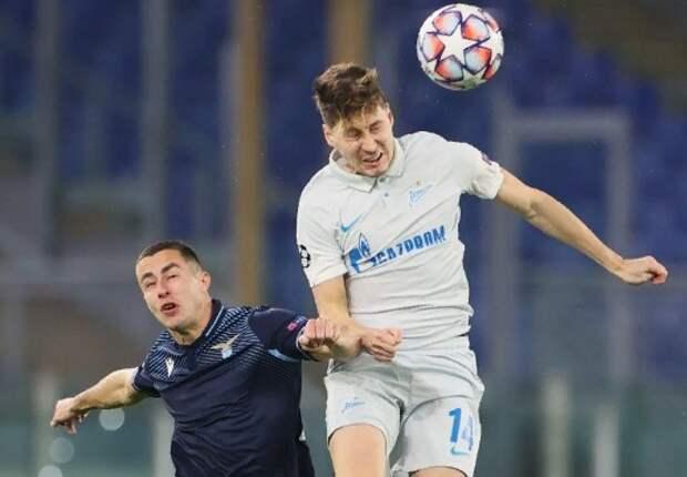 Питерский «Зенит» проиграл итальянскому «Лацио» в Лиге чемпионов