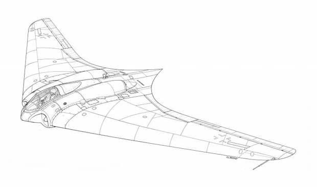 Horten 229: на чьих крыльях летает БПЛА «Охотник»