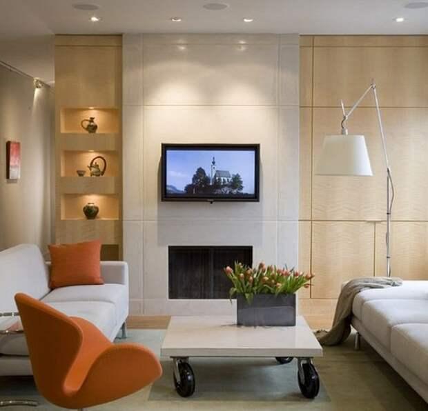 Освещение гостиной: идеи и варианты, способы монтажа, советы дизайнеров, фото