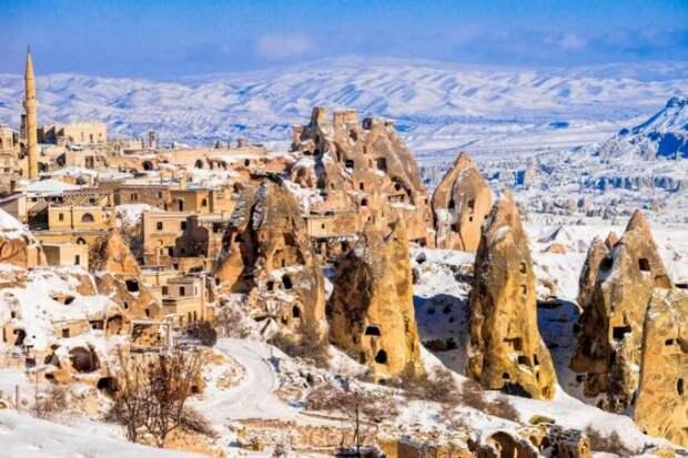 Потрясающие дома древних турков. /Фото: otdyhayem.com