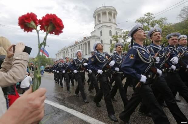 К 9 мая Севастополь приводят в порядок