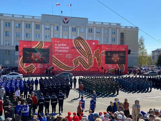 Как проходит празднование Дня Победы в Ижевске