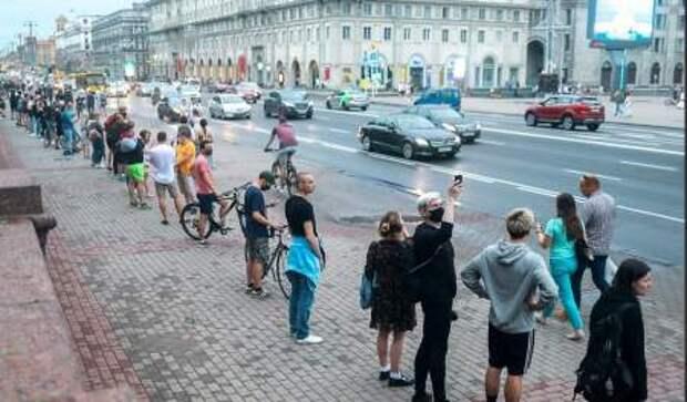 Жаркие новости из Белоруссии: несостоявшийся «майдан» и арест кандидата в президенты