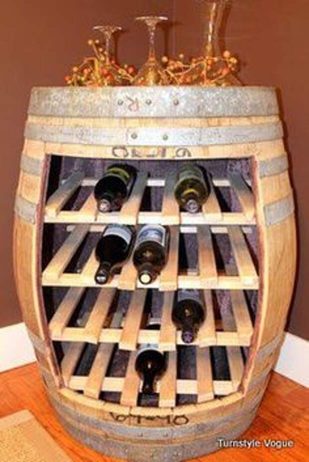Идеи: хранение вина