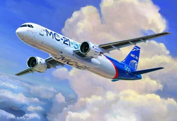 Проблемы самолета МС-21 решены импортозамещением