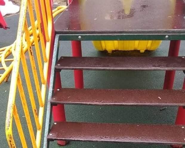 На Нижней Масловке отремонтировали детскую площадку