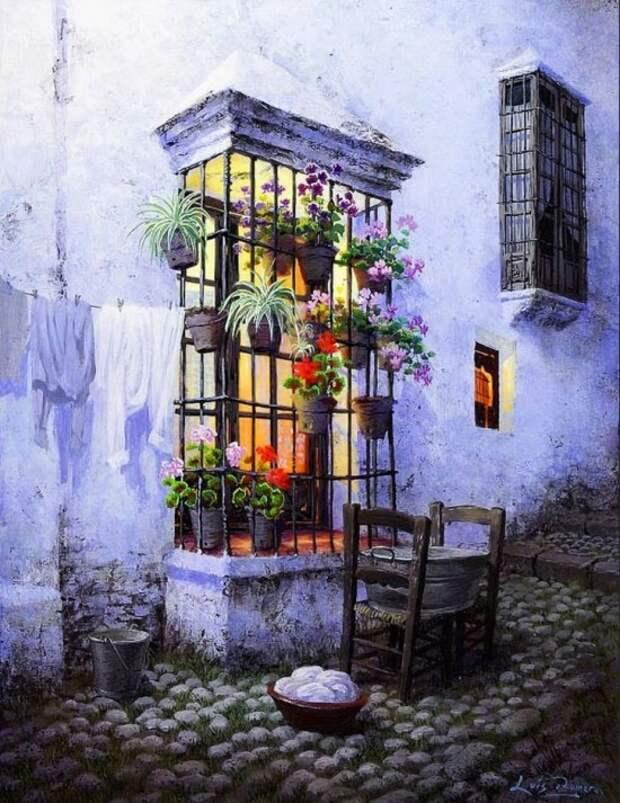 художник Луис Ромеро (Luis Romero) картины – 24