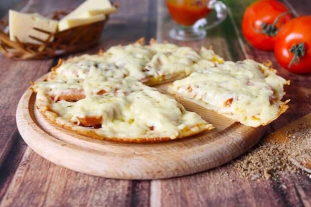 Картофельная пицца. Полноценный ужин для любителей жареного картофеля