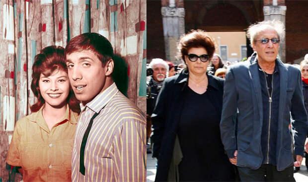 Адриано Челантано и Клаудия Мори