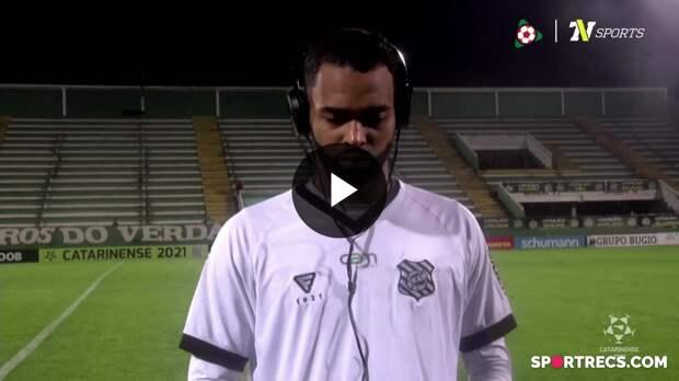 Giva fala sobre a eliminação do Figueirense para a Chapecoense - Campeonato Catarinense (12/05/2021)