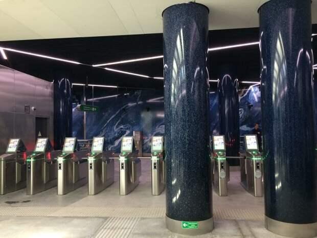 В Петербурге станцию «Зенит» откроют на один день для футбольных фанатов