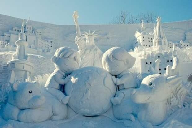 Снежные малыши