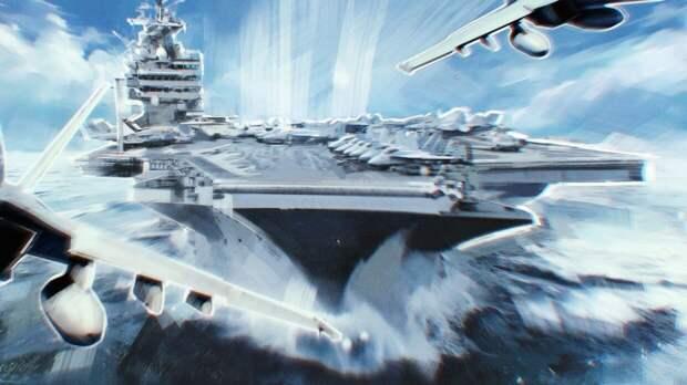 В России разработали проект нового авианосца для ВМФ РФ
