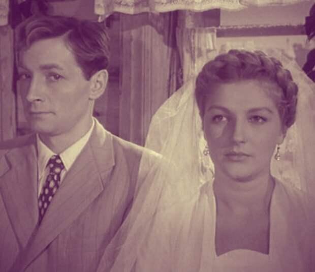 Самые красивые пары советского кино 50-ых.
