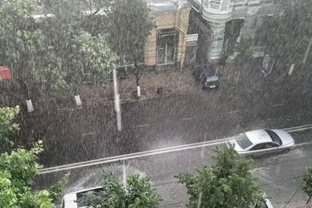 Краснодарский край накроют дожди и сильный ветер