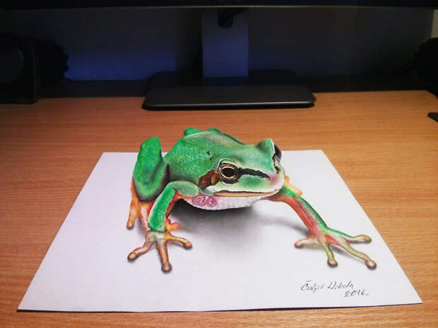 Гиперреалистичные 3D-рисунки от художника-самоучки