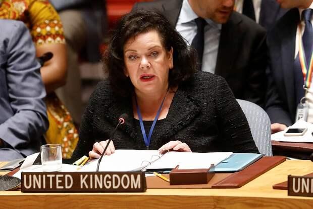 Представитель Британии в ООН впала в маразм и обвинила РФ в геноциде украинцев в Крыму