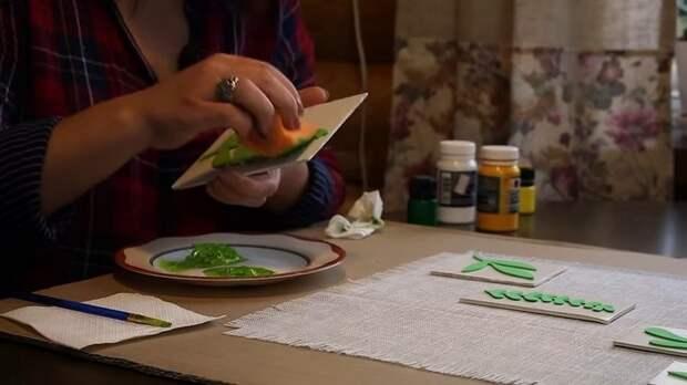 Невероятно простой способ создать эксклюзивную скатерть, дорожку или салфетки для уюта в доме