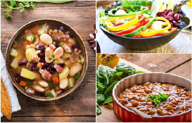 5 восхитительных блюд из фасоли, которые порадуют своим вкусом