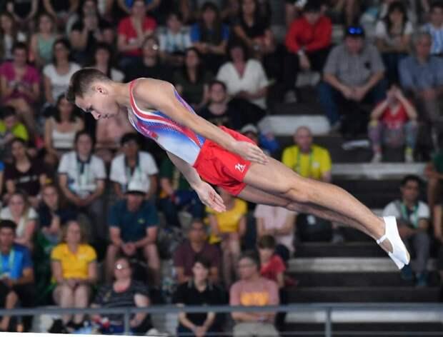 Белорус Литвинович завоевал золотую медаль Олимпиады в прыжках на батуте