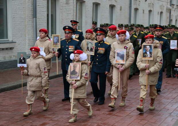 В Военном университете прошел митинг, посвященный 76 годовщине Победе в Великой Отечественной войне