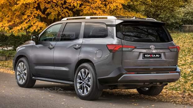 Новая Toyota Sequoia: какой она может быть