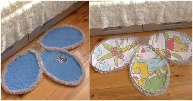 Крутая идея, позволяющая переделать старые полотенца и одеяла в уютные предметы обстановки