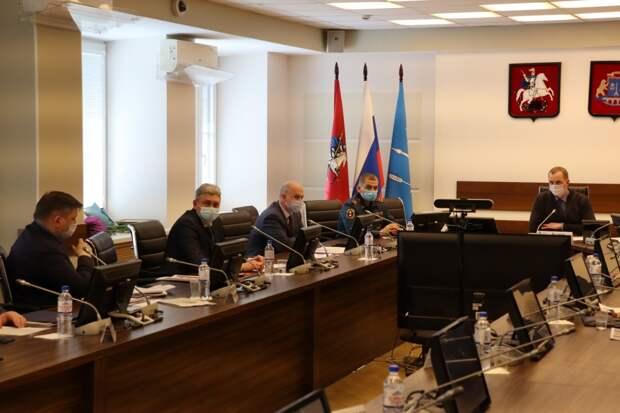 В СВАО подвели итоги деятельности МЧС и гражданской обороны в 2020 году