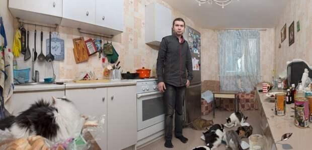 Ожизни современных затворников хикки: фотопроект «Путешествие накрай комнаты» Натальи Ершовой