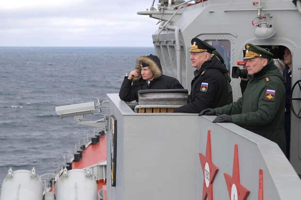 Российские надводные корабли назвали «кошмаром» для ВМС США