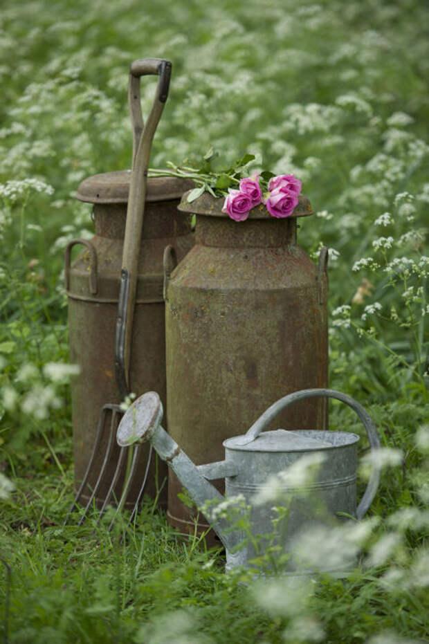 20 идей декорирования сада в деревенском стиле