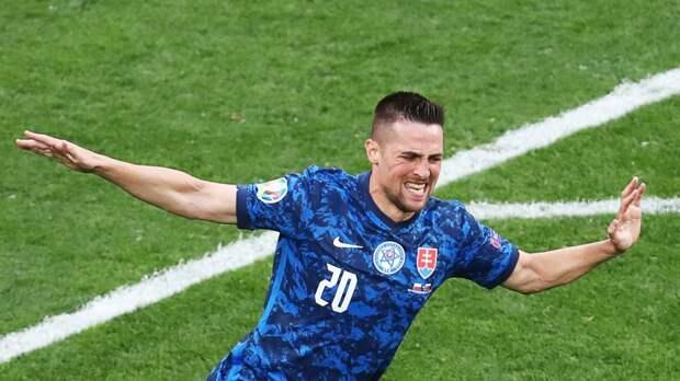 Сборная Словакии победила Польшу в матче Евро-2020 в Петербурге
