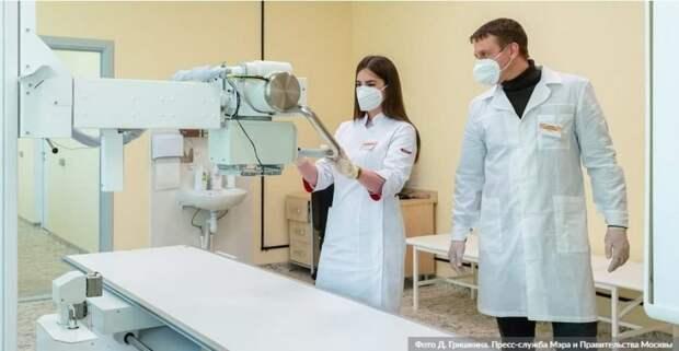 Искусственный интеллект в Москве будет обрабатывать исследования по 10 направлениям Фото: Д.Гришкин, mos.ru