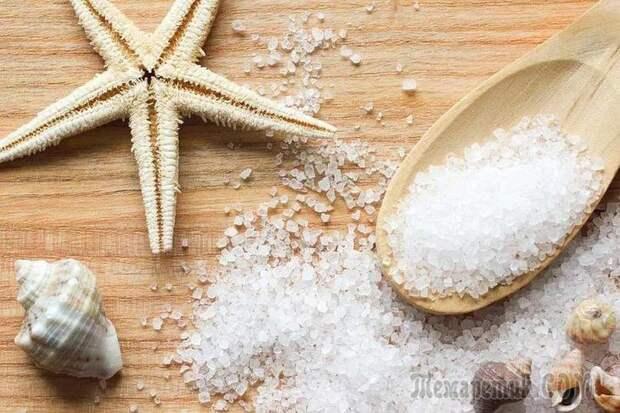 Как можно использовать морскую соль в уходе за собой