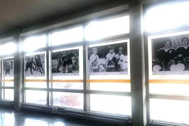 Фотогалерея хоккейного клуба «Ижсталь» открылась в парке Кирова в Ижевске