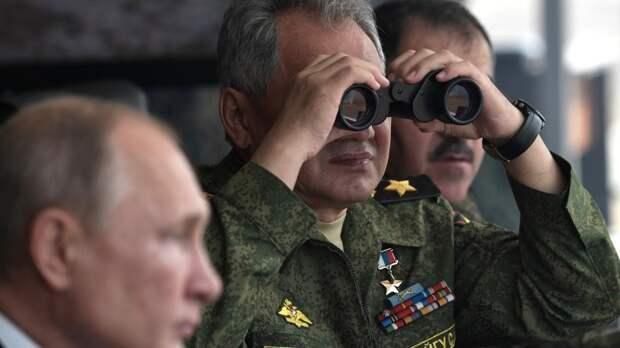 Шойгу: Назападные рубежи переброшены две армии и три соединения ВДВ