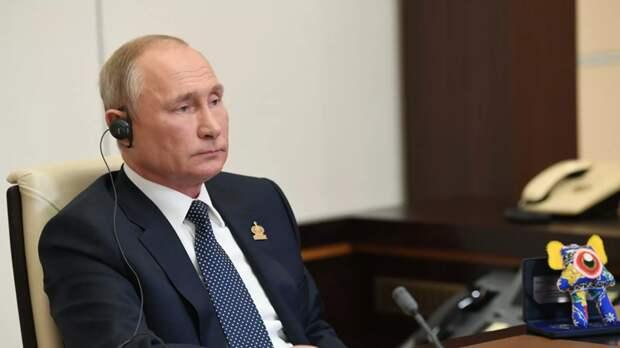 Путин похвалил Трампа за работу