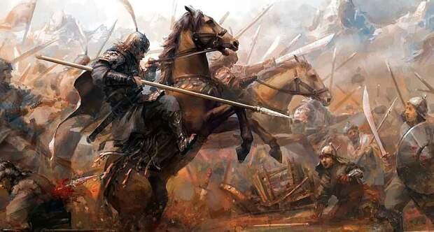 монголо-татары в набеге