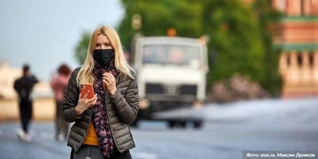 Посетителей столичных ТРЦ оштрафуют за нарушение масочного режима / Фото: М.Денисов, mos.ru