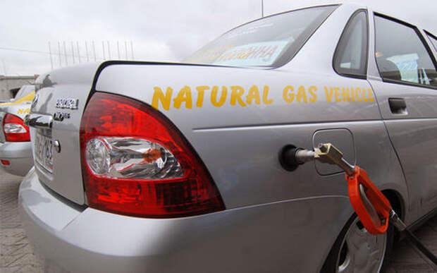 Путин: для РФ использование газомоторного топлива важнее, чем электромобили