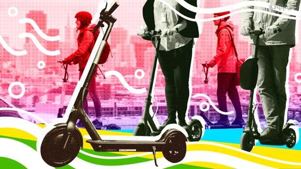 Самокаты на городских улицах: от болезненных решений не отвертеться