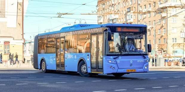 Автобусный маршрут продлили от соседнего района до Сокола