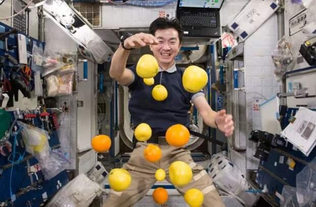 Космическое меню - что едят космонавты на борту МКС