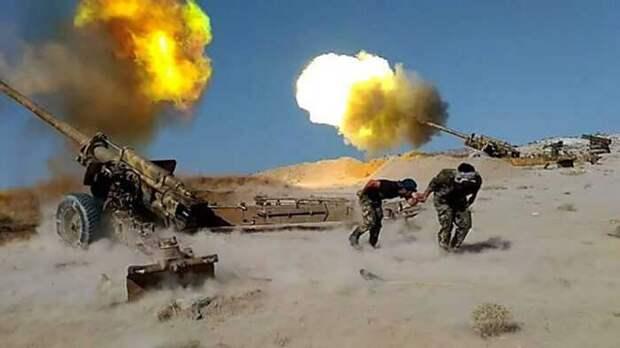 На юге сирийской провинции Идлиб возобновились бои САА с протурецкими боевиками