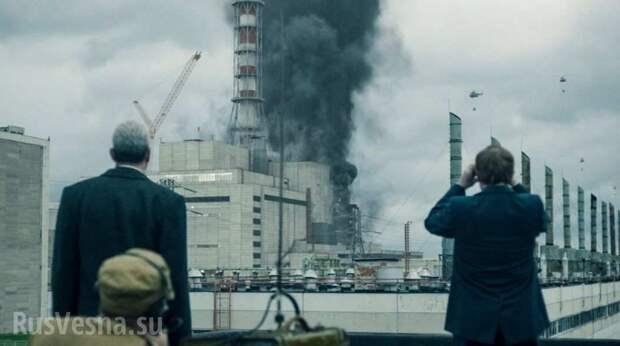 Украина угрожает Западу новым Чернобылем из-за отказа от «российской агрессии»
