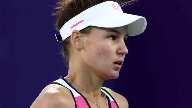 Кудерметова потеряла одну позицию в рейтинге WTA